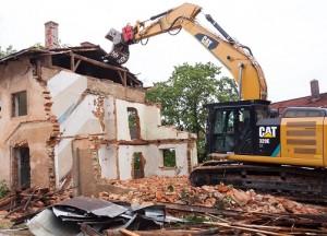 demolition maison Le Quesnoy